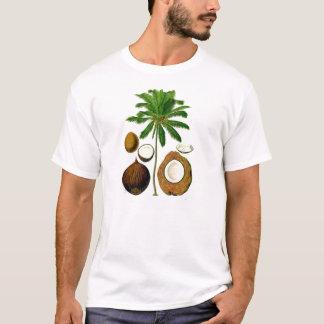 Coconut Tree Botanical Illustration T-Shirt