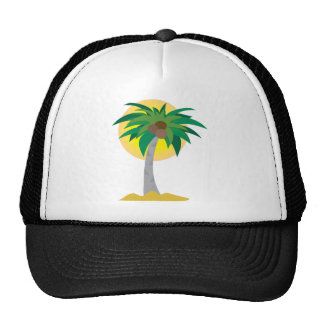 Coconut Tree Trucker Hats