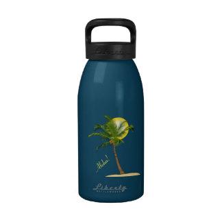 Coconut Tree Water Bottle 16 oz