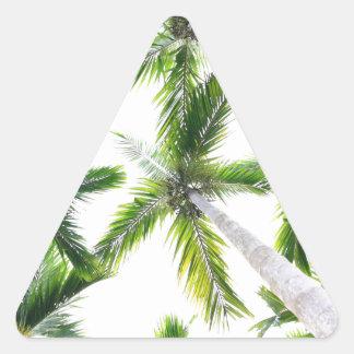 Coconut Trees Triangle Sticker