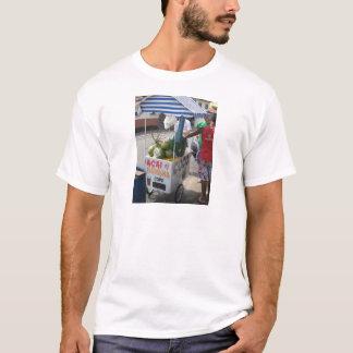 Coconut vendor in Brazil T-Shirt