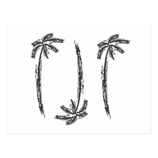 coconutpalm postcard