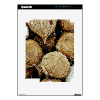 Coconuts Decal For iPad 2