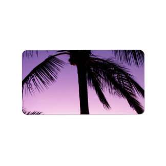 Coconuts in the Wind Custom Address Labels
