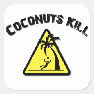 Coconuts Kill Sticker