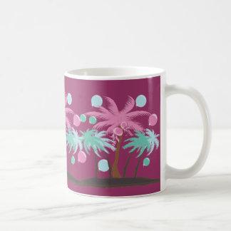 coconuts tree coffee mug