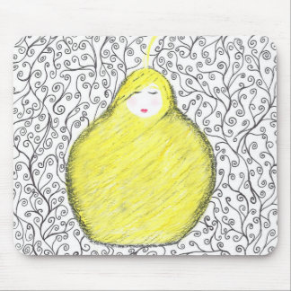 Cocoon of Golden Hair Mouse Pad