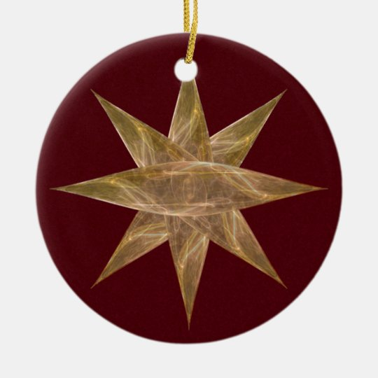 Cocoon Star Ornament