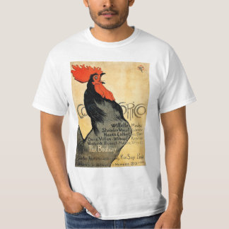 Cocorico (1896) and Théophile Steinlen T-Shirt