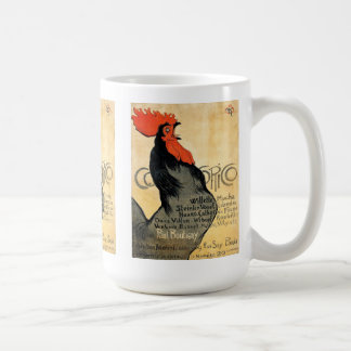 """Cocorico"" and Théophile Alexandre Steinlen Coffee Mug"