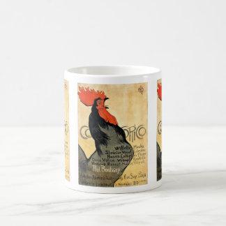 """Cocorico"" and Théophile Alexandre Steinlen Coffee Mug"