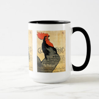 """Cocorico"" and Théophile Alexandre Steinlen Mug"