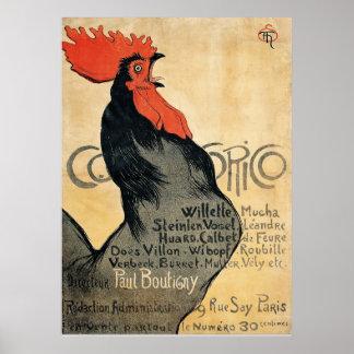 Cocorico - Steinlen Poster