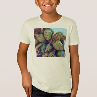 Cocos blandos en una pila playeras