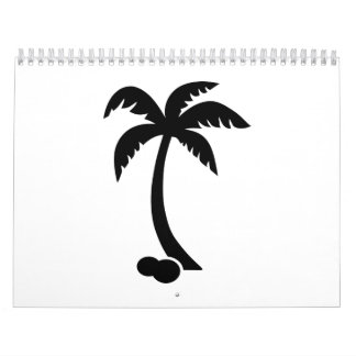 Cocos de la palma calendario