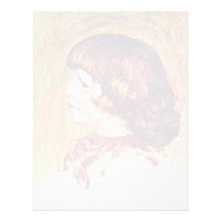 Cocos de Pierre-Auguste Renoir (la mejor calidad) Membrete
