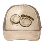 Cocos del como gorra