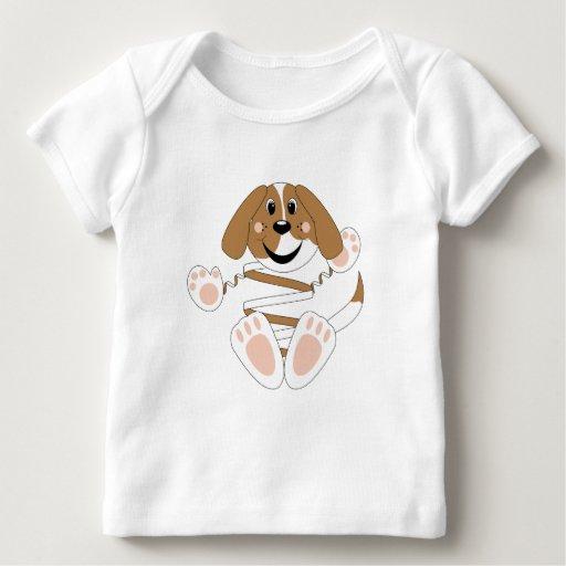 Cocos del perro de Skrunchkin Playera De Bebé