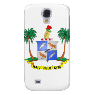 Cocos Island Coat of Arms Galaxy S4 Covers