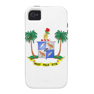Cocos Island Coat of Arms Case-Mate iPhone 4 Cover