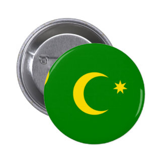 Cocos Island Flag Pinback Button