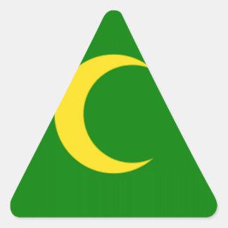 Cocos Island Flag Triangle Sticker