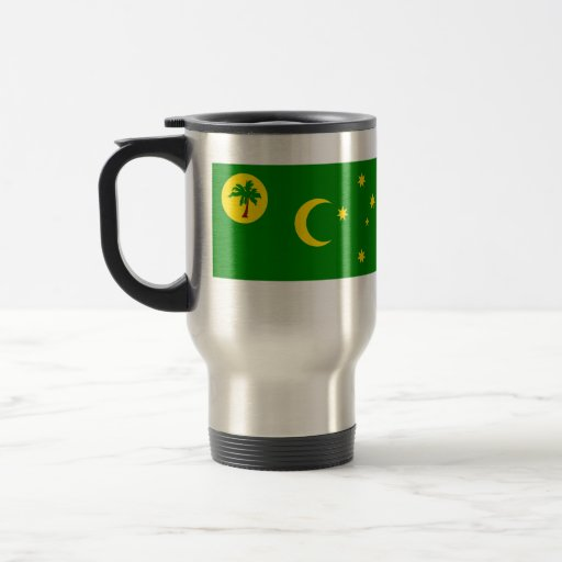 Cocos Islands, Australia flag Coffee Mugs