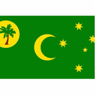 Cocos Islands, Australia flag Cut Out