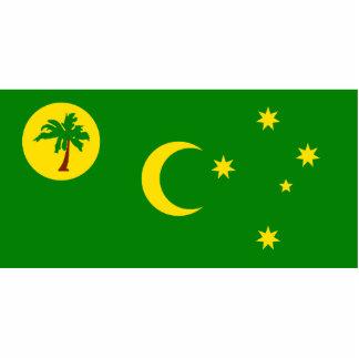 Cocos Islands, Australia flag Photo Cutouts
