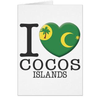 Cocos Islands Card