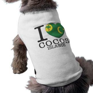 Cocos Islands Doggie T Shirt
