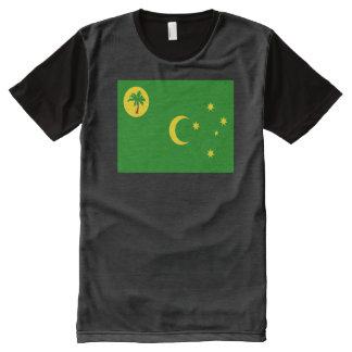 Cocos Islands Flag All-Over-Print Shirt