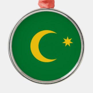 Cocos Islands Flag Metal Ornament