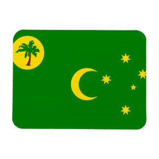 COCOS ISLANDS FLAG RECTANGULAR PHOTO MAGNET