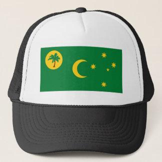 Cocos Islands Flag Trucker Hat