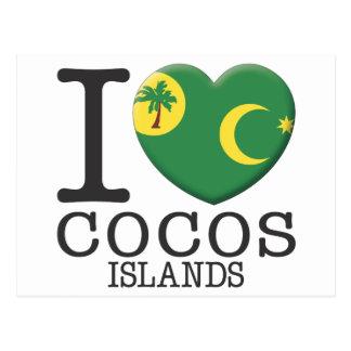 Cocos Islands Postcards