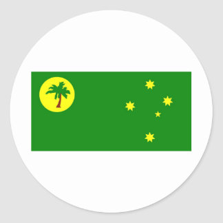 Cocos Islands Classic Round Sticker