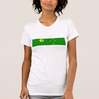 Cocos Keeling Islands country flag nation symbol T-Shirt