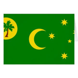 Cocos (Keeling)Islands Flag CC Card