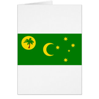 Cocos (Keeling)Islands Flag CC Greeting Card