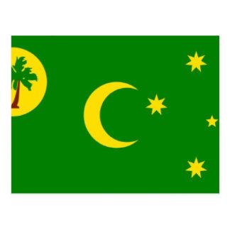 Cocos (Keeling)Islands Flag CC Post Cards