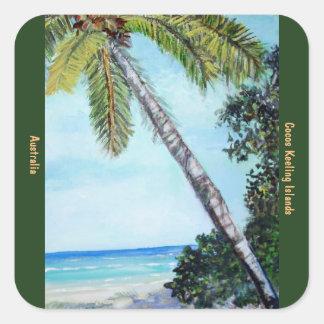 Cocos Keeling Islands - Stickers