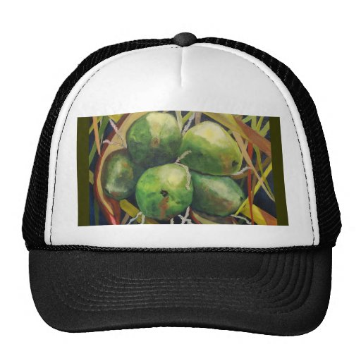 Cocos verdes gorro
