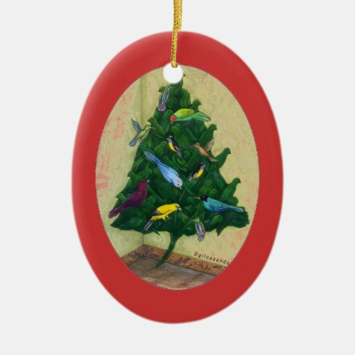 Cocotte Christmas Tree Ornaments