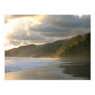 Cocovado National Park Coastline Postcard