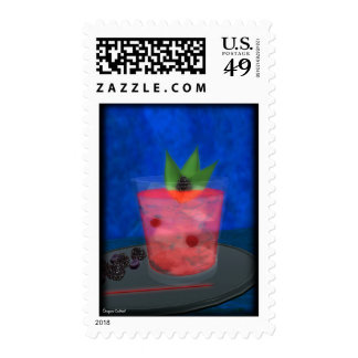 Cóctel: Azules de Blackberry Sellos