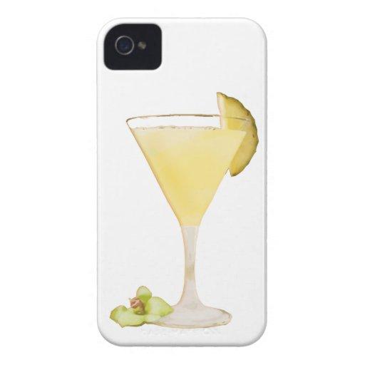 Cóctel de la piña Case-Mate iPhone 4 cárcasas