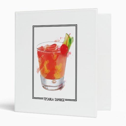 """Cóctel de la salida del sol del Tequila del Carpeta 1"""""""