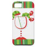 Cóctel del duende del navidad iPhone 5 carcasa
