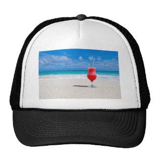 Cóctel en la arena gorras de camionero